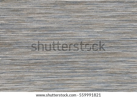 Textile Texture, Close Up of Blue and Brown Fabric Pattern Background with Copy Space for Text Decorated.