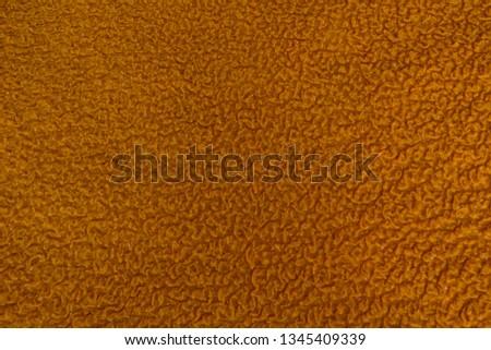 Textile texture. Orange textile. Textile background. #1345409339