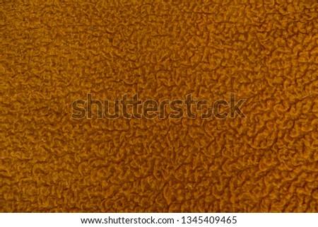 Textile texture. Orange textile. Textile background. #1345409465