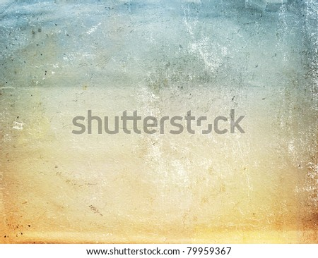Texture - a sheet of the old, soiled paper