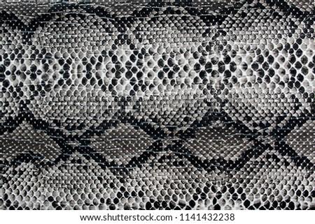 texture artificial skin similar to a snake