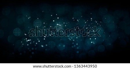 Texture background abstract black and white or silver Glitter and elegant for Christmas. Dust white. Sparkling magical dust particles. Magic concept. Abstract background with bokeh effect. #1363443950