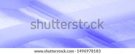 Texture, background, blue silk striped fabric with a metallic sheen.  #1496978183
