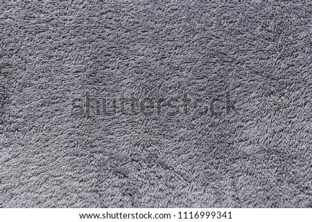 Texture background of a towel or floor carpet