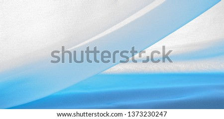 texture background pattern. blue silk fabric This is a light artificial silk fabric of dupioni with a subtle matte sheen. It is perfect for your design, accents, wallpapers, posters and cards. #1373230247