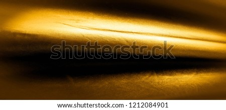 texture, background, pattern. golden yellow silk fabric panoramic photo. This is sunny carolina. This is a smooth hand that creates a subtle sheen. Made with luxurious silk, like beauty! #1212084901