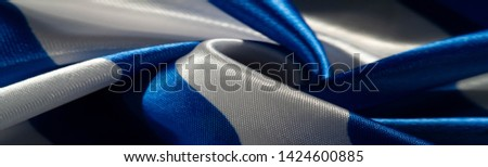 Texture, background, pattern, postcard, silk fabric, blue-white ovals, your projects will not go unnoticed with this fabric, buying this fabric you will be the best #1424600885