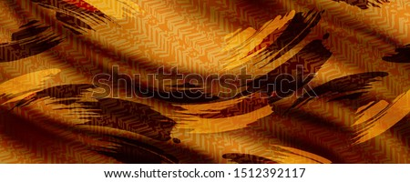 Texture, background, pattern, postcard, silk fabric, female color scarf with abstract colors. The gorgeous design is based on attractive background for textile and digital print