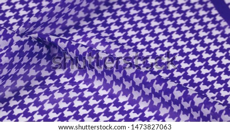 Texture, background, pattern, silk fabric, brights blue on a white background. pattern on ala fabrics famous french fashion designer. projects will fulfill your desires you are known #1473827063