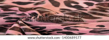 texture, background, pattern, silk fabric, european foot, fashion, leopard print, animal, irreplaceable texture for your projects, pink tint #1400689577