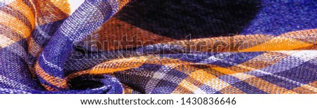 Texture, background, pattern, winter warm soft scarf for your projects blue and white yellow blanket, with this fabric you will be comfortable, warm, your design will be imposed on your home #1430836646