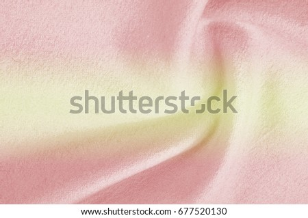 Texture, background, pattern. Woolen fabric for outer clothing, yellow red. #677520130