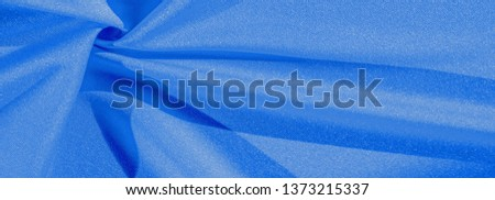 Texture, background, silk fabric, blue women's shawl Convenient for your projects, the design of wallpaper cards #1373215337