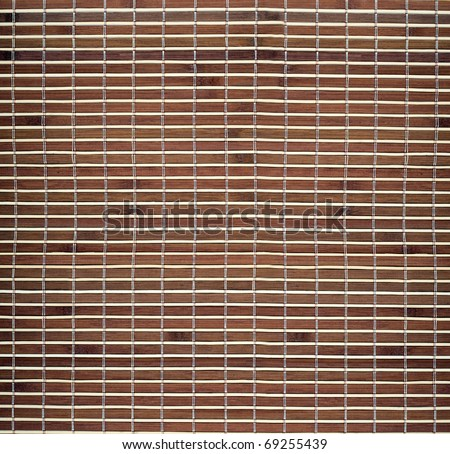 Texture bamboo background brown color