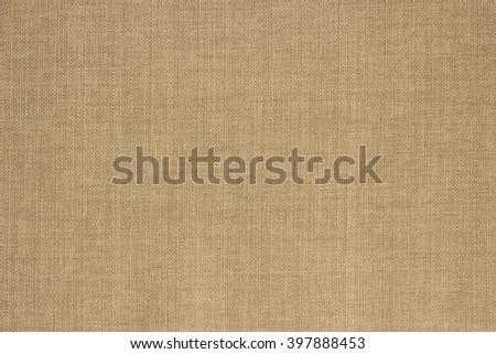 Texture beige sack fabric