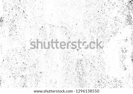 Texture black and white abstract grunge style. Vintage abstract texture of old surface. Pattern and texture of cracks, scratches and chips. #1296138550