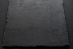 texture black slate on black background