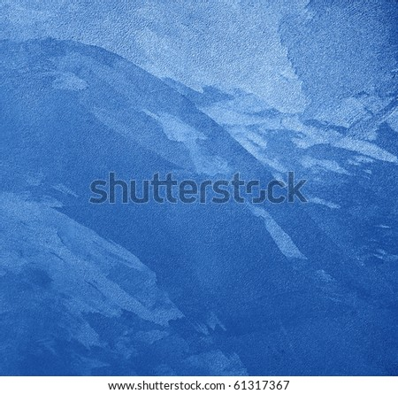 texture blue background with granules - stock photo
