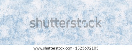 Texture blue ice surface as background for advertising surfaces in winter #1523692103