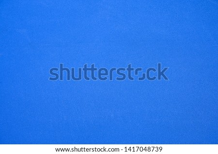Texture blue synthetic rubber field of tennis court background #1417048739