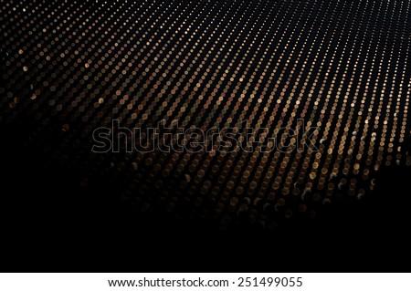 Texture bokeh  light from metal