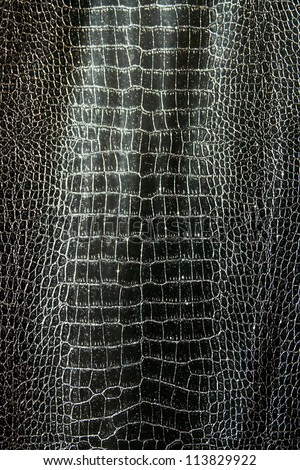 Texture brilliant crocodile leather pattern