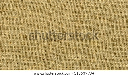 Texture canvas fabric as background . Texture sack sacking country background