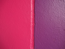 Texture cement congrete wall pink and purple background