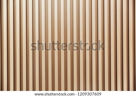texture concept - brown ribbed background Foto stock ©