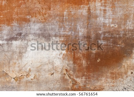 texture - facade of an old tuscan house