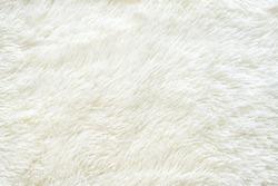 Texture faux fur fiber blanket rug