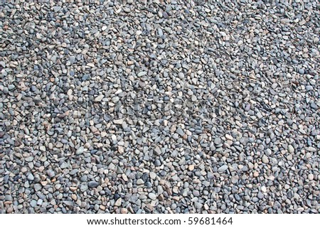 Texture - fine gravel