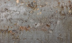 Texture from chipping paint of metal pole