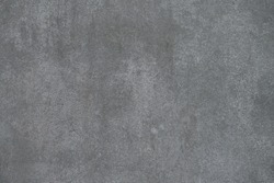 Texture gray plastered wall for background
