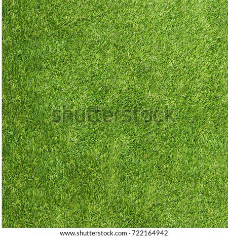 Texture green grass. Background of green turf grass. Texture coating of a football field. Green lawn - Shutterstock ID 722164942