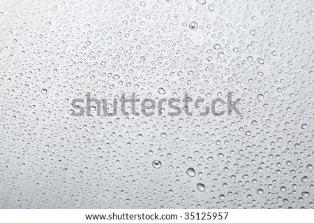 TEXTURE IMAGE-a close-up view of drops of water - stock photo