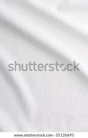 TEXTURE IMAGE- close-up view of the white towel