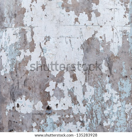 Texture layer of paint on an old plywood, for design