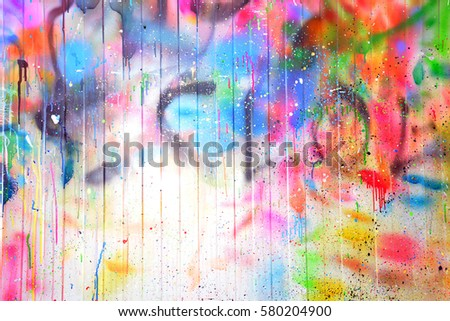 texture multicolored stains spray #580204900