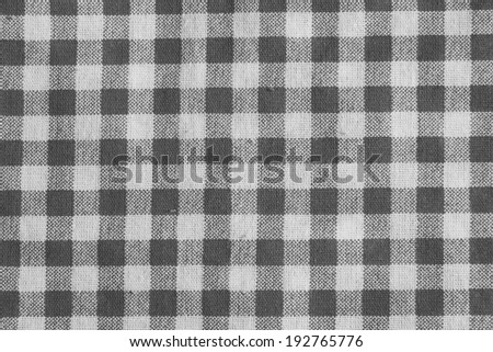 Black And White Gingham Tablecloth Texture Background, High Detailed | EZ  Canvas