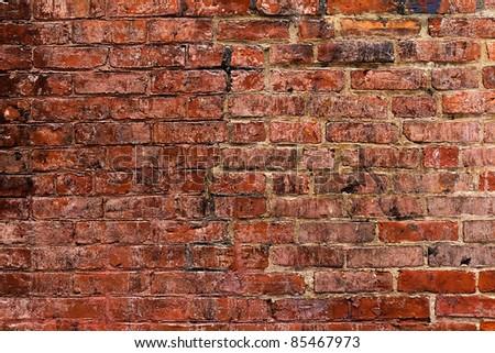 Texture of a brick wall.
