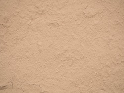 texture of a clay wall form mud house