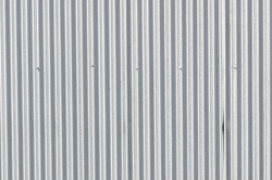 Texture of a corrugated metal sheet