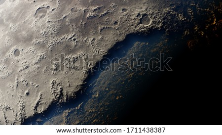 texture of a distant planet, texture of an exo-planet, realistic texture of the surface of an alien planet, top view of the planet surface 3d render