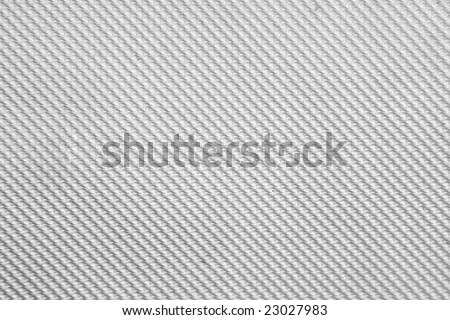 Texture of a White Plastic Pattern