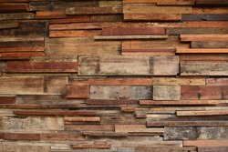 Texture of a wooden wall, no patterns.