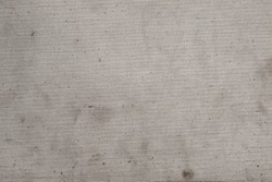 Texture of aged canvas, sackcloth, dirt stains, spots, vintage grey background