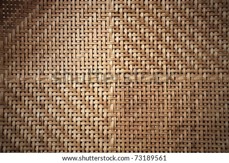 Texture of bamboo weave, can be used for background