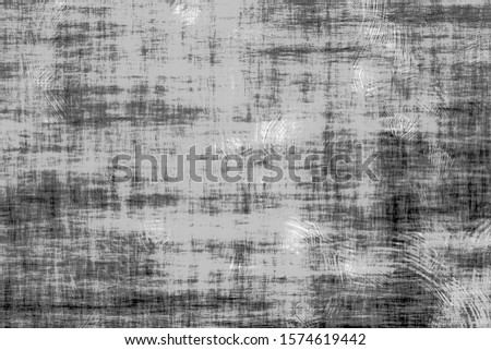Texture of black and white lines, scratches, dots, noise, grain. Grunge dust and scratched background.