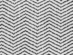 texture of black and white zigzag wool carpet